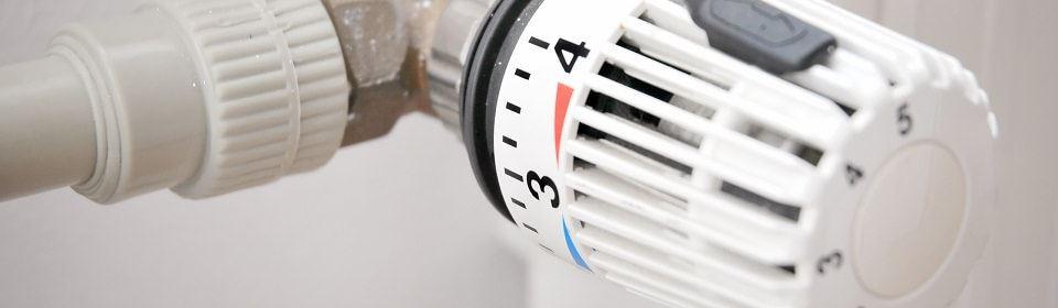 draaiknop van radiator
